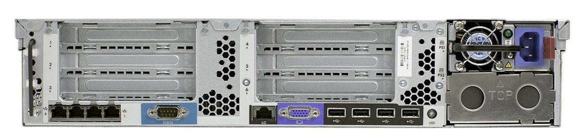 Servidor HP ProLiant DL380p Gen8 - E5-2609 4-Core - 4GB - 2.4Ghz